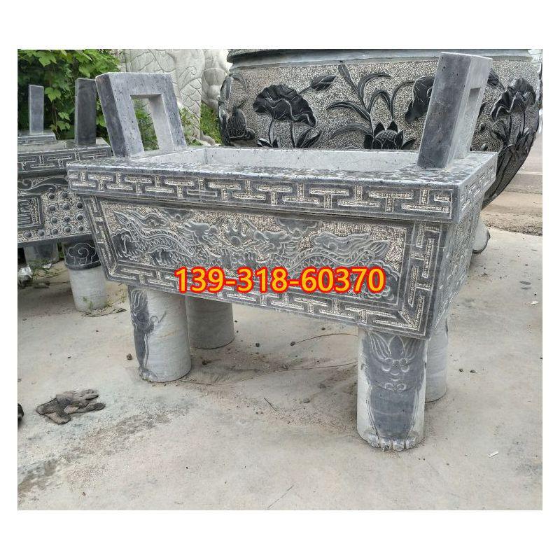 大理石香炉石雕(2)