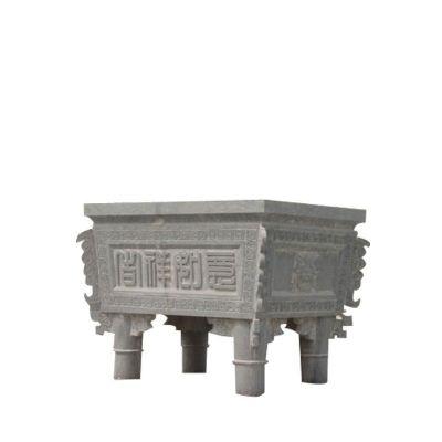 青石香炉雕塑