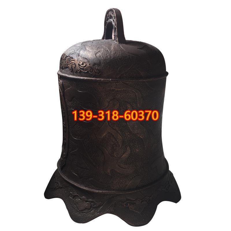 警示钟铜雕(1)