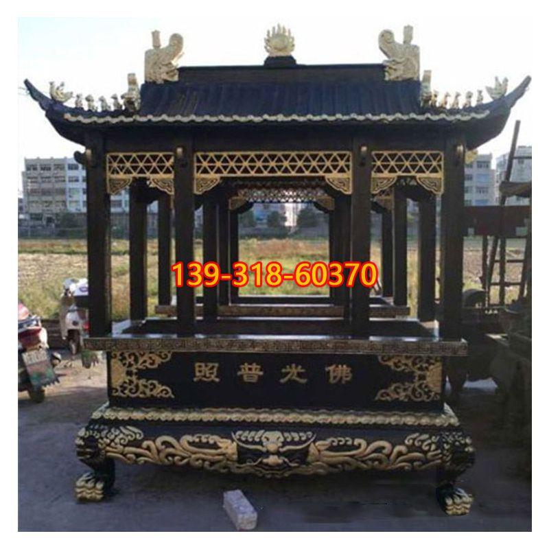佛光普照香炉雕塑(1)