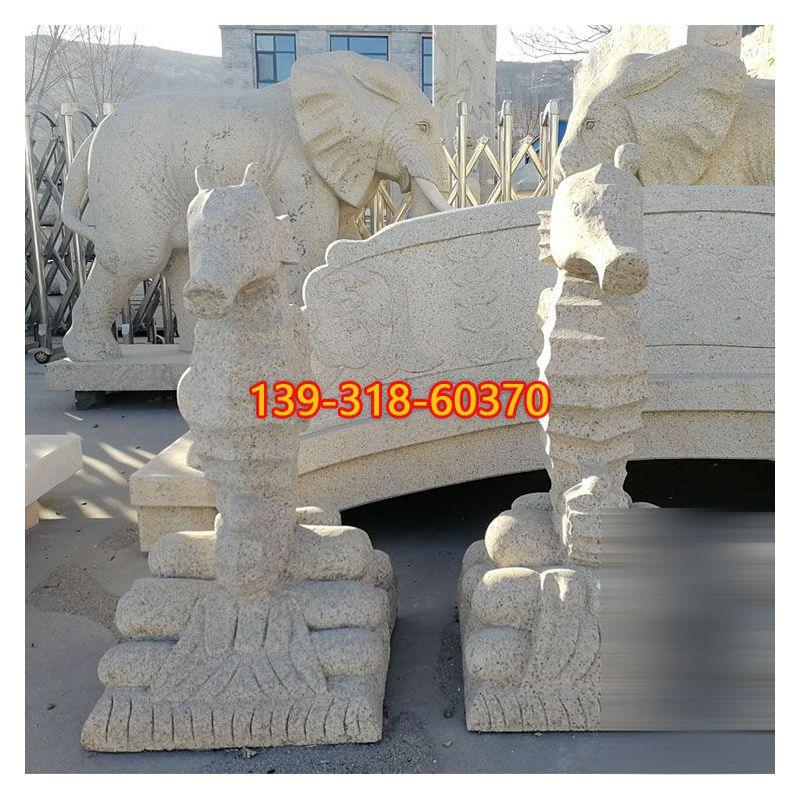 公园海马石雕(2)