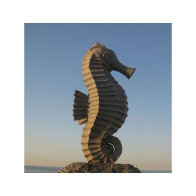 大型海马石雕