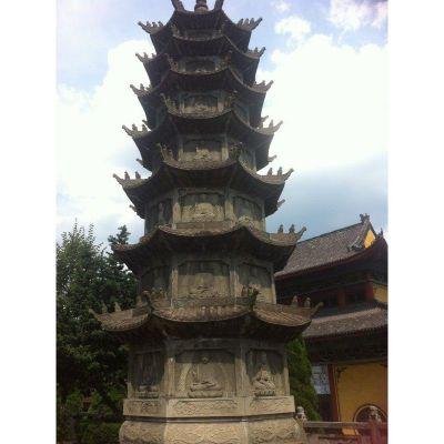 寺庙石塔雕塑