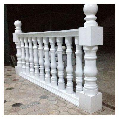 汉白玉欧式栏杆雕塑