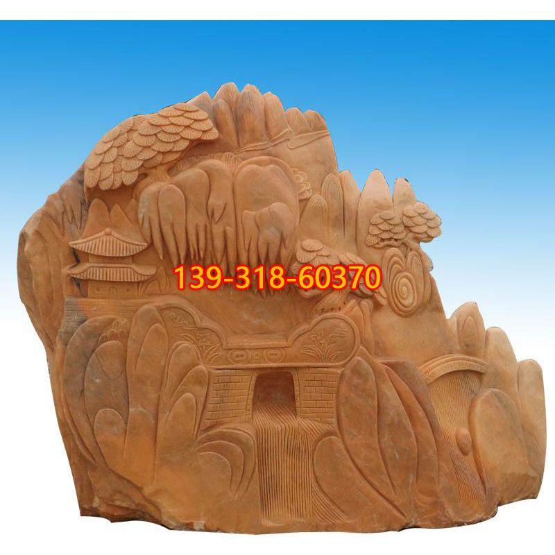 小区景观石雕塑(1)