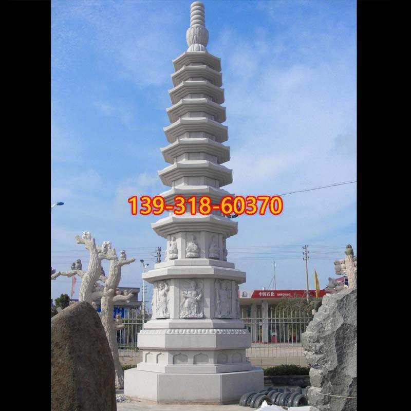 寺庙舍利塔石雕(1)
