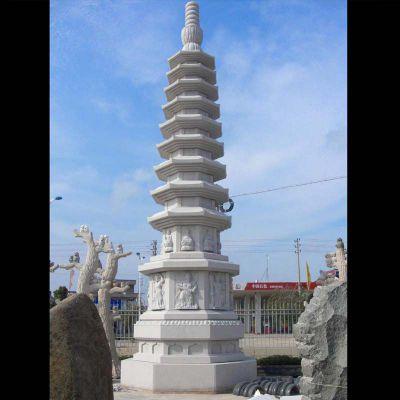 寺庙舍利塔石雕