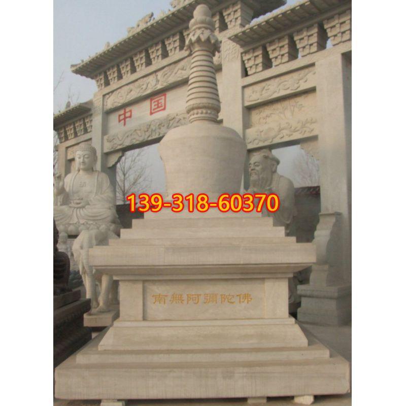 寺庙佛塔雕塑(1)