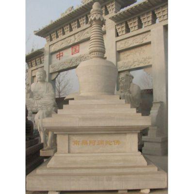 寺庙佛塔雕塑