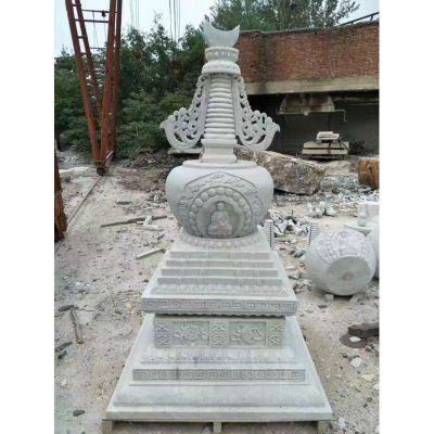 寺庙石雕塔